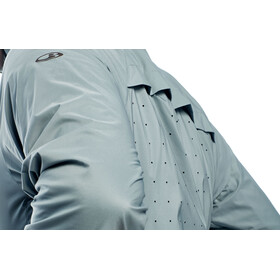 Icebreaker M's Coriolis Windbreaker Hooded Jacket vapour/metal